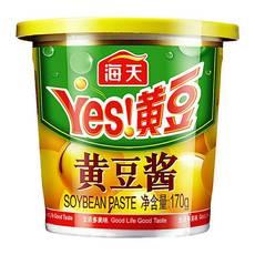 海天黄豆酱170g东北大酱蘸葱炒菜拌面调料