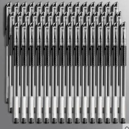 【10支】黑色圆珠笔水笔