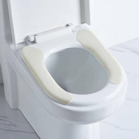 马桶坐垫通用型冬季加厚马桶垫方形家用坐便器垫座便垫网线坐便套