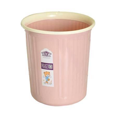 创意家用垃圾桶大号办公室厨房客厅卧室卫生间拉圾简约无盖带压圈
