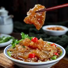 【新品上市】老醋海蜇头即食(400gx3袋)凉拌即食海蜇头下酒凉菜。