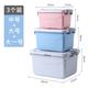 【3个装】特大号家用衣服收纳箱加厚整理箱清仓玩具储物盒子塑料有带盖学生用品