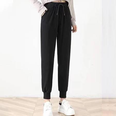 【男女同款】 棉质大码休闲裤 宽松潮流束脚裤