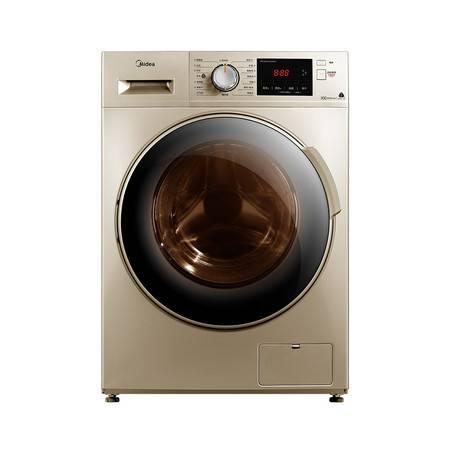 美的(Midea)洗衣机滚筒全自动洗烘一体带烘干 10公斤kg家用消毒变频MD100V332DG5