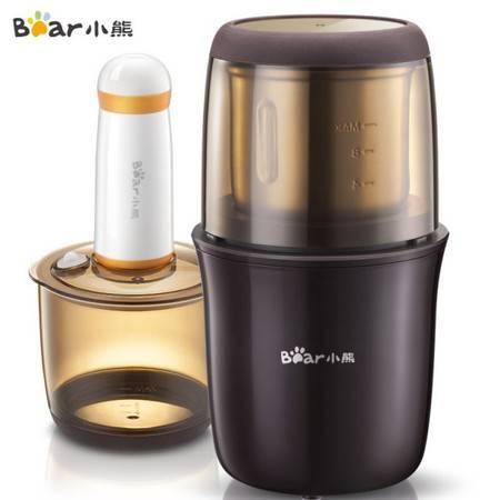 小熊研磨机磨豆机咖啡豆芝麻绿豆辣椒干货磨粉真空储存 MDJ-A01Y1