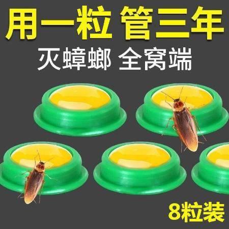 蟑螂药强效家用无毒一窝端卧室厨房蟑螂克星灭虫神器一扫光方便贴