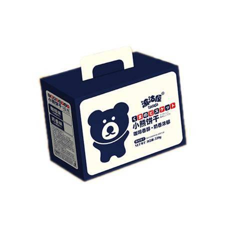 小熊饼干曲奇酥性饼干咖啡味奶香味网红零食早餐儿童零食休闲食品