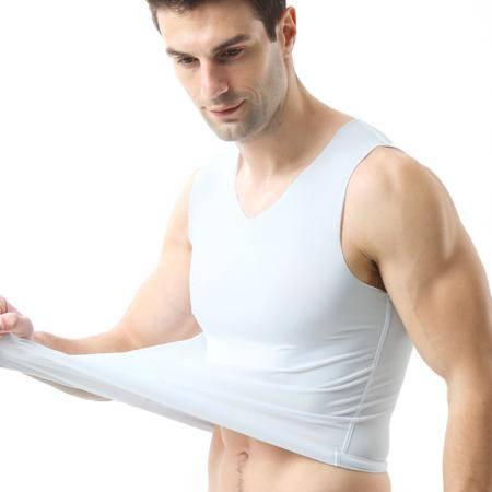 1/2件装夏季男士背心男短袖无痕马甲无袖冰丝T恤运动大码坎肩衣服